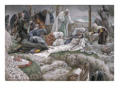 The Holy Virgin Receives the Body of Jesus, Illustration for 'The Life of Christ', C.1884-96