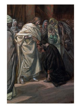 The Unbelief of St. Thomas, Illustration for 'The Life of Christ', C.1884-96