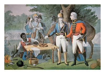 General Francis Marion of South Carolina Invites a British Officer to Dinner