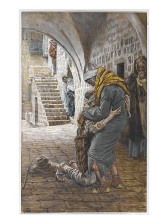 The Return of the Prodigal Son, Illustration for 'The Life of Christ', C.1886-96