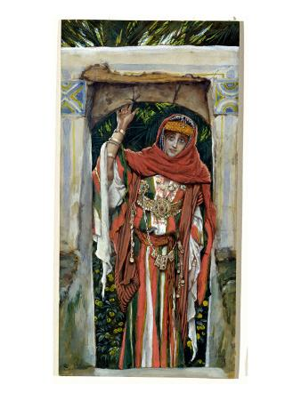 Mary Magdalene before Her Conversion, Illustration for 'The Life of Christ', C.1886-96