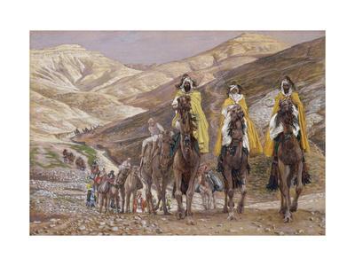The Wise Men Journeying to Bethlehem, Illustration for 'The Life of Christ', C.1886-94