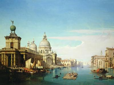 Entrance to the Grand Canal, Venice, with the Church of Santa Maria Della Salute