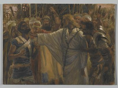 The Healing of Malchus, Illustration from 'The Life of Our Lord Jesus Christ', 1886-94