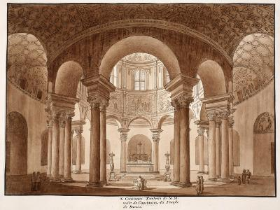 Santa Costanza. the Family Tomb of Constantine, Called the Temple of Bacchus, 1833