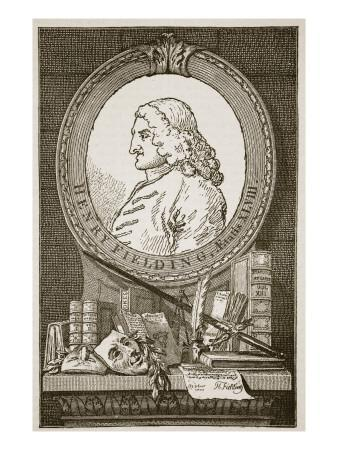 Henry Fielding, Illustration from 'Cassell's Illustrated History of England'