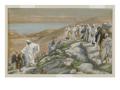 Ordaining of the Twelve Apostles, Illustration from 'The Life of Our Lord Jesus Christ'