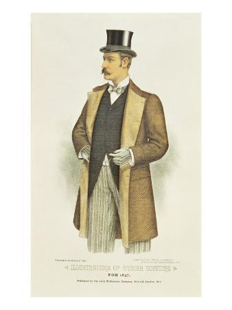 Illustration of British Costume, Pub. by the John Williamson Company Ltd, 1897