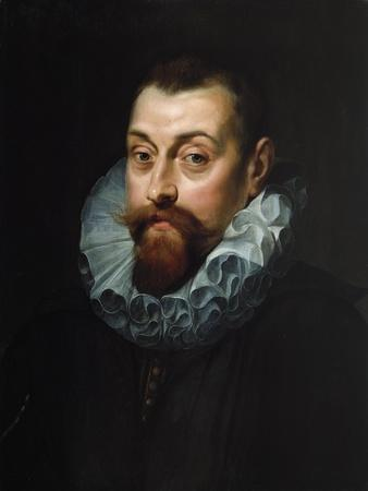 Portrait of a Man, Bust Length, in Dark Costume with a White Ruff, C.1597-99