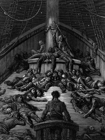 The Mariner Gazes on His Dead Companions and Laments the Curse of His Survival