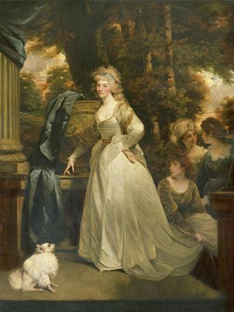 Portrait of Hrh Frederica Charlotte Ulrica, Princess Royal of Prussia and Duchess of York
