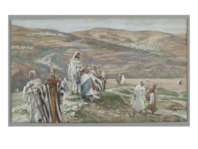 He Sent Them Out Two by Two, Illustration from 'The Life of Our Lord Jesus Christ', 1886-96