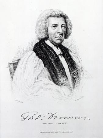 Thomas Percy, Bishop of Dromore, Engraved by John Hawksworth, 1848