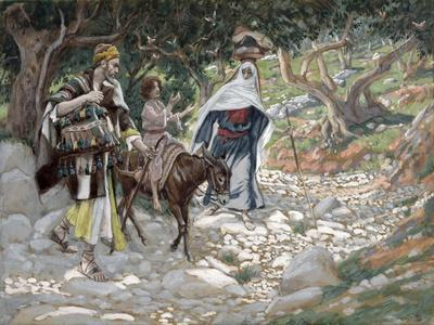 The Return from Egypt, Illustration for 'The Life of Christ', C.1886-94