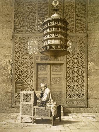 An Imam Reading the Koran in the Mosque of the Sultan, Morocco, 1817