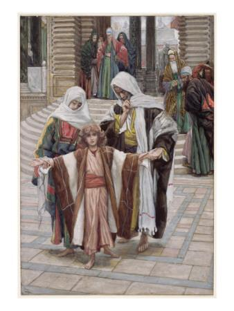 Jesus Found in the Temple, Illustration for 'The Life of Christ', C.1886-94