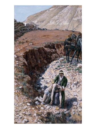 The Good Samaritan, Illustration for 'The Life of Christ', C.1886-94