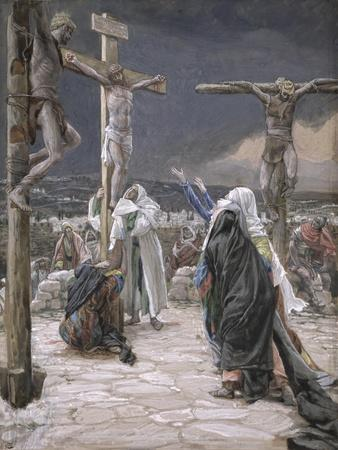 The Death of Jesus, Illustration for 'The Life of Christ', C.1884-96