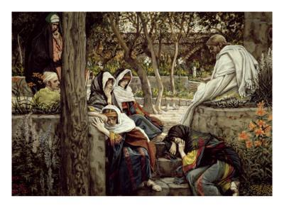 Jesus at Bethany, Illustration for 'The Life of Christ', C.1886-96