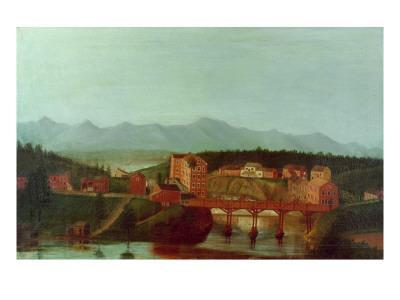 Columbiaville and Stockport Creek, Near New York, Early 19th Century