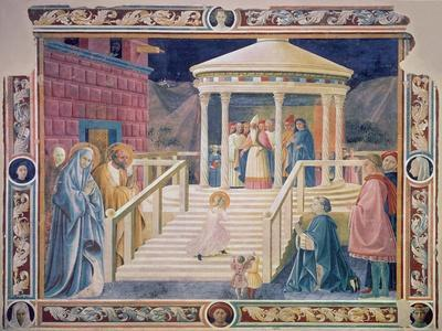 The Presentation of the Blessed Virgin Mary in the Temple, 1433-34