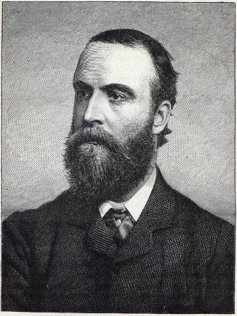 Charles Stewart Parnell, Engraving after a Photograph by William Lawrence