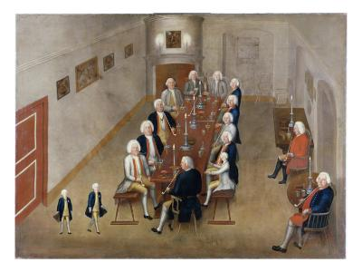 The Smoking Council of Frederick William I of Prussia, C.1737/8