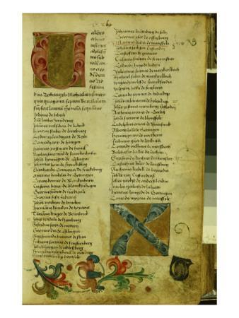 Martin Luther's Enrolment Sheet at the University of Erfurt, April 1501