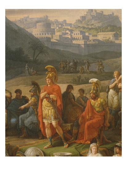 Funeral Games in Honour of Patrocles, Detail of Greek Heroes, C 1790