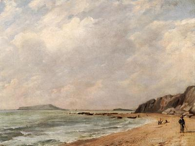 A View of Osmington Bay, Dorset, Looking Towards Portland Island