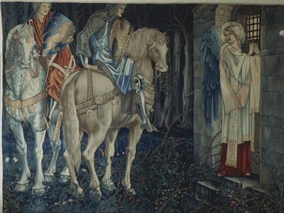 The Failure of Sir Gawain and Sir Ewain to Achieve the Holy Grail, 1893-95