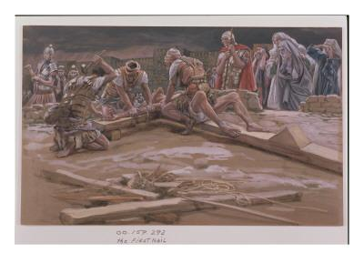 The First Nail, Illustration for 'The Life of Christ', C.1886-96
