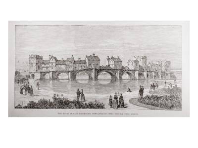 The Royal Jubilee Exhibition, Newcastle-On-Tyne: the Old Tyne Bridge