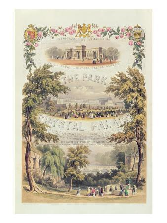 Frontispiece to 'The Park and the Crystal Palace', Pub. by Day and Son
