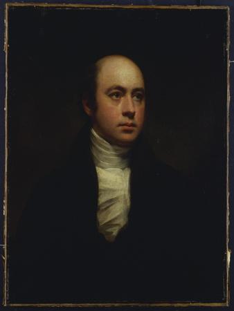 Portrait of Sir Francis Chantrey, in a Dark Jacket and White Cravat