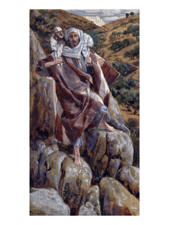 The Good Shepherd, Illustration for 'The Life of Christ', C.1886-94