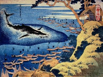 Whaling Off the Goto Island, from the Series 'Oceans of Wisdom'