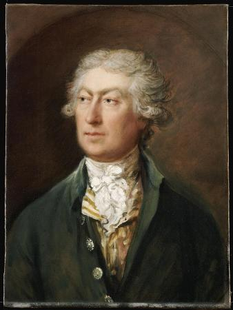 Portrait of the Artist, Bust Length, in a Green Coat and White Stock