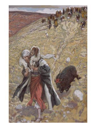 The Scapegoat, Illustration for 'The Life of Christ', C.1886-94