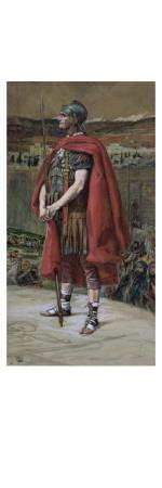 The Centurion, Illustration for 'The Life of Christ', C.1886-94