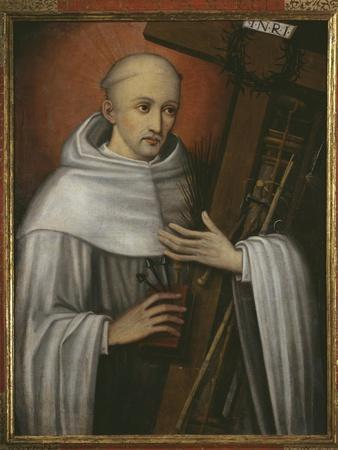 St. Bernard of Clairvaux Carrying the Instruments of the Passion