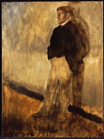Portrait of a Man Standing with His Hands in His Pockets