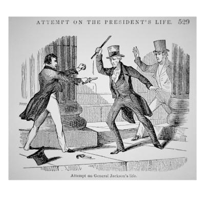 The Attempted Assassination of General Andrew Jackson
