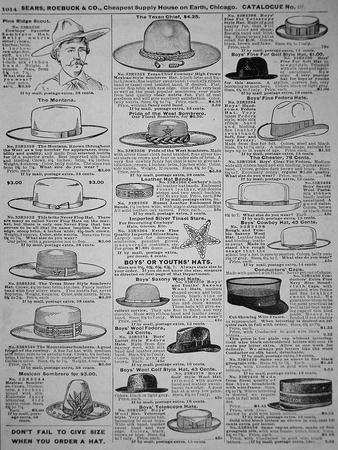 Pages from Sears, Roebuck of Chicago, Catalogue of 1902