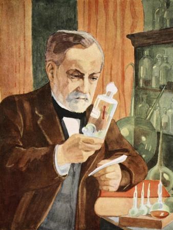 Pasteur in His Laboratory, Copy by Boris Mestchersky