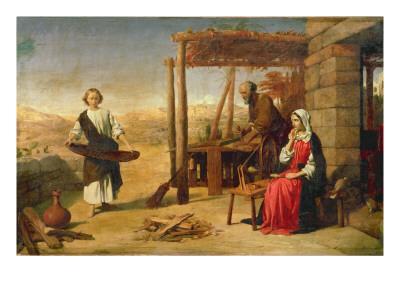 Our Saviour Subject to His Parents at Nazareth, 1860
