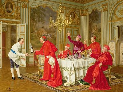Louis Xiv's Apartments at Versailles, the Chef's Birthday