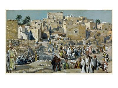 Jesus Passing Through the Villages on His Way to Jerusalem