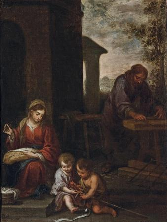 The Holy Family with the Infant St. John the Baptist, 1660-70