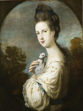 Portrait of Miss Juliet Langton Standing, Half Length, 1764